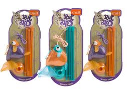 Hartz Just for Cats Gone Fishin Cat Toy | Assorted Colors |