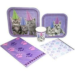 Blue Orchards Kitten Deluxe Party Packs , Kitten Party, Cat