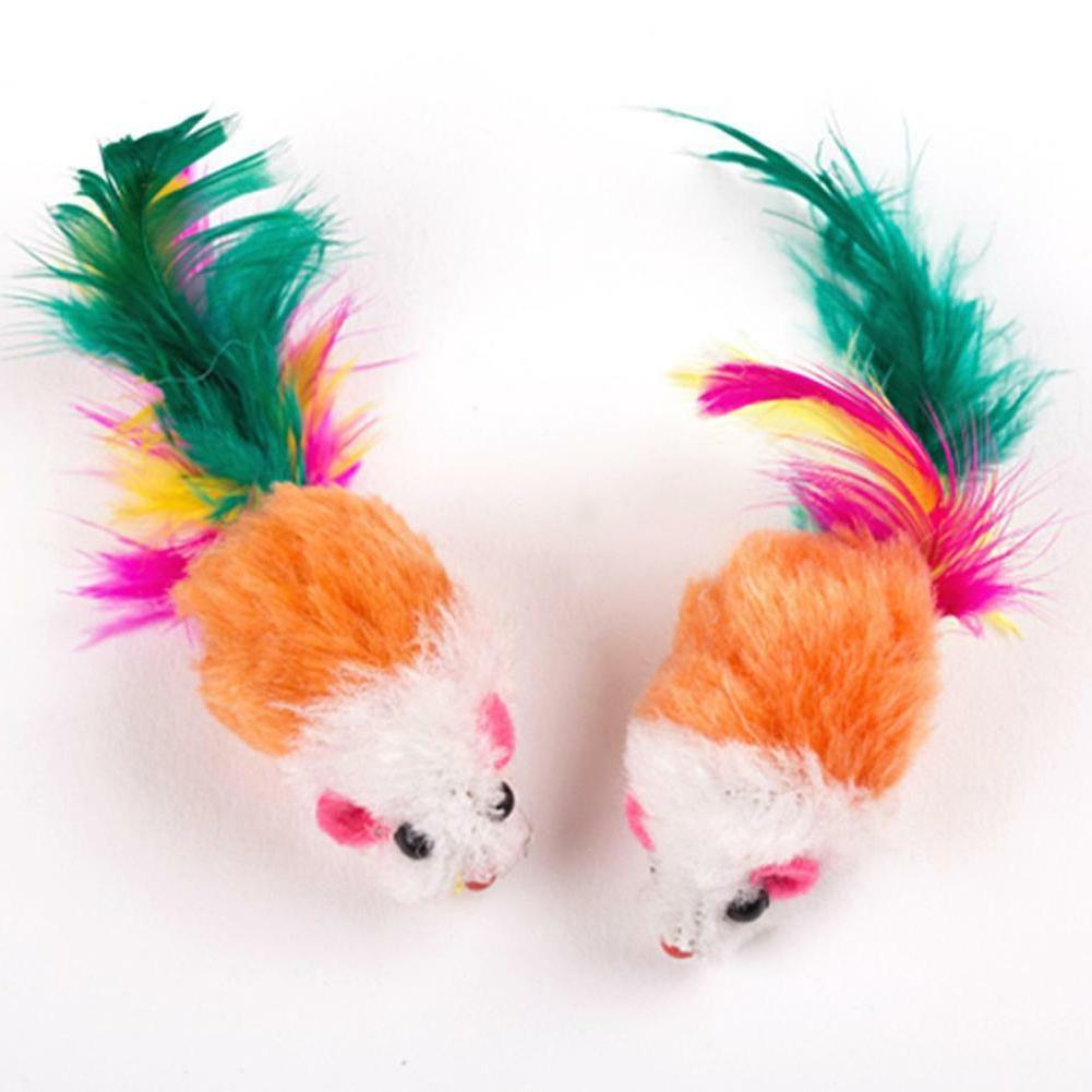10pcs False Mouse Cat Funny Toy For Colorful
