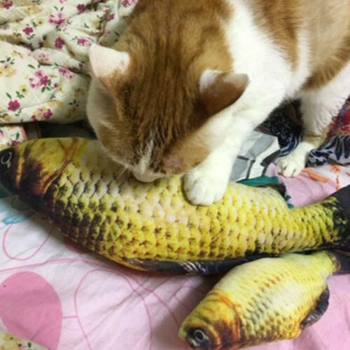 1x Fish Toy For Cat Electric Moving Fish USA