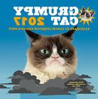 2017 GRUMPY CAT wall calendar in Russian language - Сама