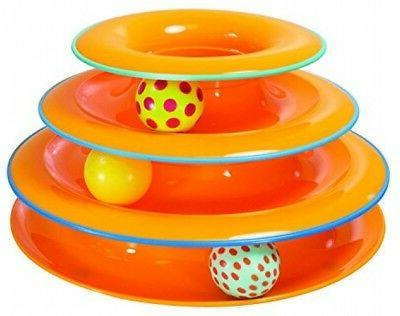 Petstages Tower Ball and Toy Fun Cat Game