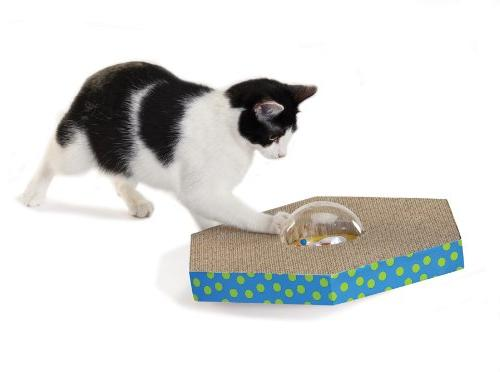 Wobble and Scratch Globe Cat and Toy by Petstages