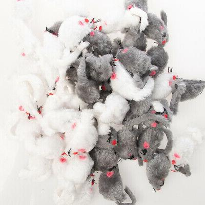 Fuzzy Cat Mice For Felt Toy Shape Box