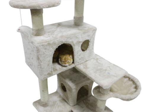 51'' Cat Tree Tower Scratching Condo Furniture Post House for Cats