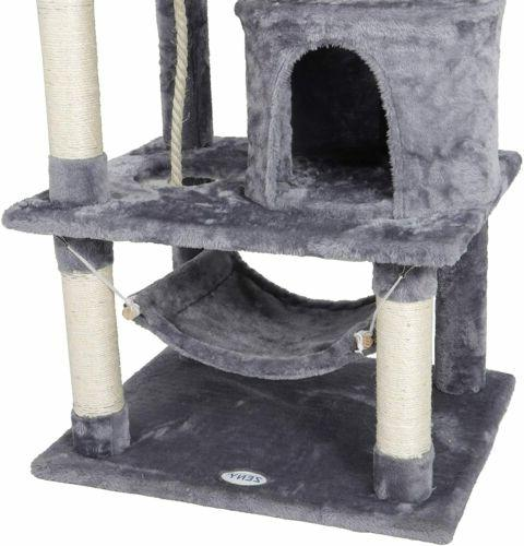 "57"" Cat Pet Tower Play Hammock"