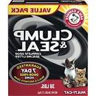 Arm and Hammer Clump and Seal Multi-Cat Litter, 76 Lb