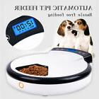Automatic Pet Feeder Timed LCD Electronic Dispenser for Dog