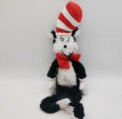 "Cat In The Hat Dr. Seuss Cat in the Hat 18"" Soft Plush Toy M"