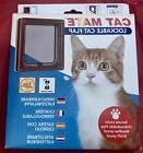 Cat Mate Lockable Cat Flap 304B Weather Proof Silent Action