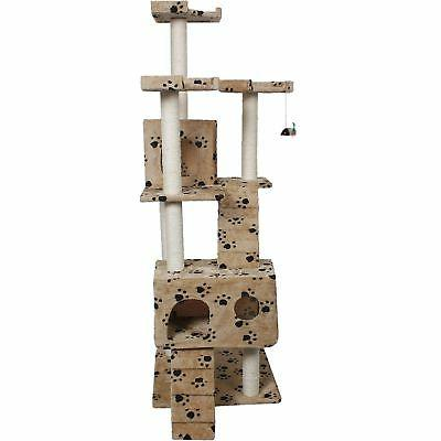 """Cat Tree Large Cats 72"""" Post Furniture House"""