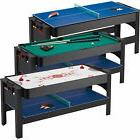 Fat Cat 3-in-1 Game Table - Pool/Billiard, Table Tennis and