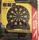 Fat Cat Electronic Dartboard 13 Inch Soft Tip Dart Board New