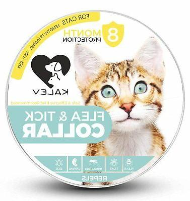 Flea And Tick Collar For Medium/Large Cats - Vet Recommended