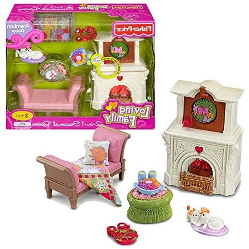 Fisher Price Year 2010 Loving Family Dollhouse Premium Decor