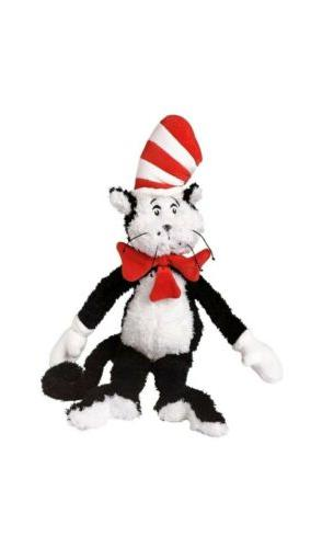 """Manhattan Toy CAT IN THE HAT 19"""" Plush New with tag Dr Seuss"""