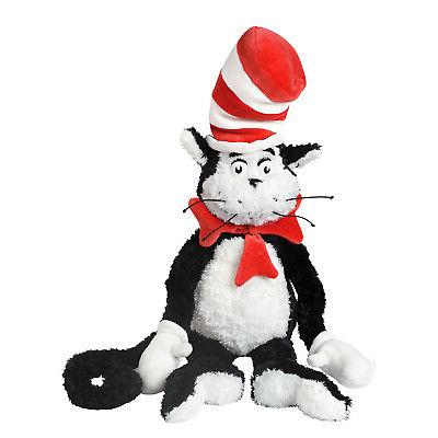 """Manhattan Toy Dr. Seuss The Cat in the Hat 27"""" Soft Plush To"""