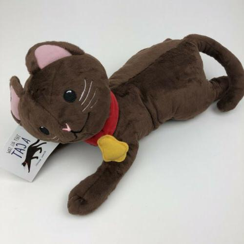 MerryMakers They All Saw a Cat Plush Doll 12-Inch from book