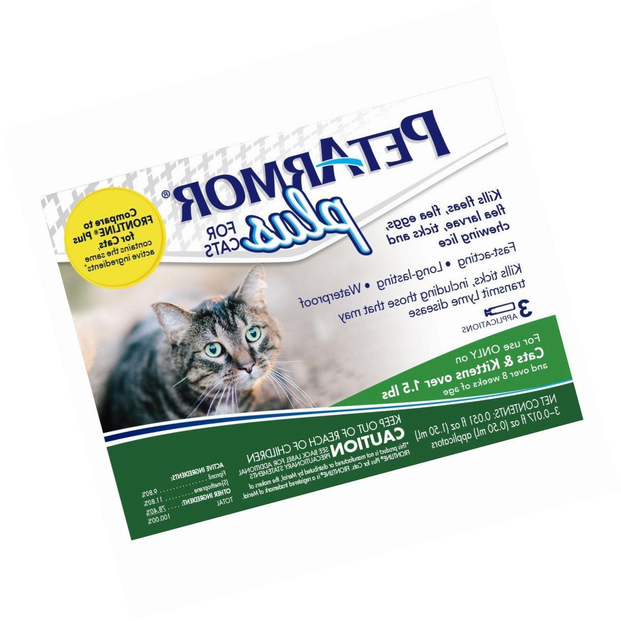 PetArmor Plus Flea Tick Prevention for Cats with Fipronil 3