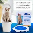 Plastic Toilet Training Kit for Cats Cat Litter Mat Trainer
