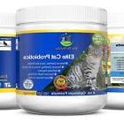 Powder Probiotic Supplement for Cats All Natural Non GMO & G