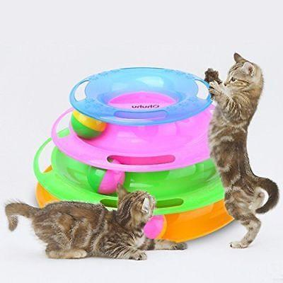 Toy for Cats Fun Cat Game Petstage Tower of Tracks Ball and