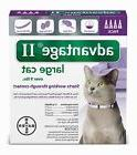 Advantage II for Cats over 9 lbs - 4 Pack - US EPA approved