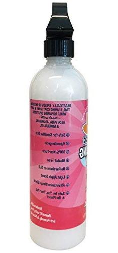 New All Detangling Spray Remove Tangles and Hair Lotion with Qualities - Made USA 1 Bottle