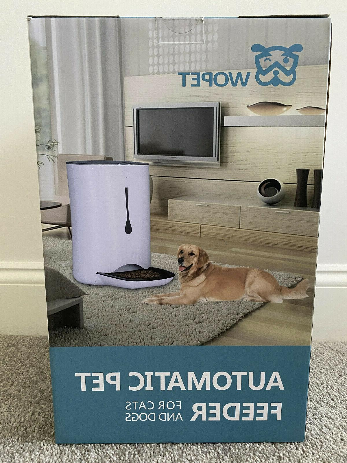 automatic feeder feed food water dog cat
