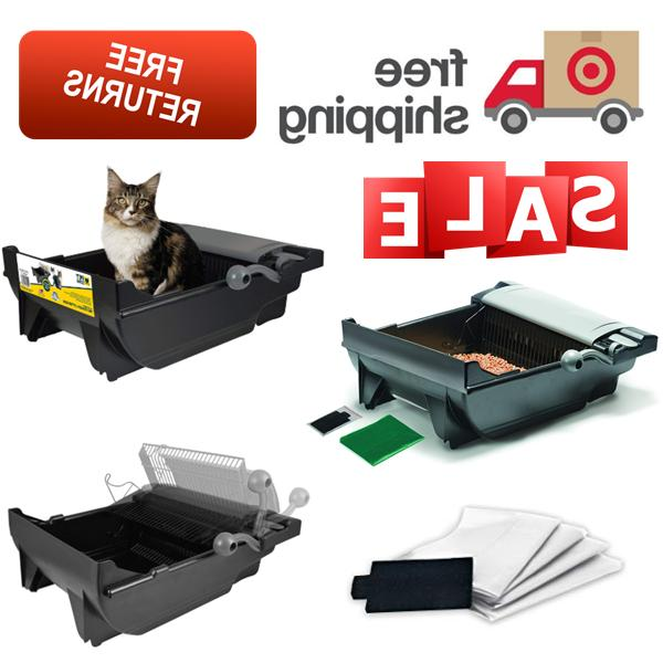 automatic litter box self cleaning for cats