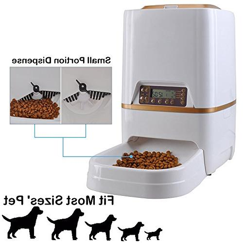 WESTLINK Automatic Feeder Food for Cat Recorder