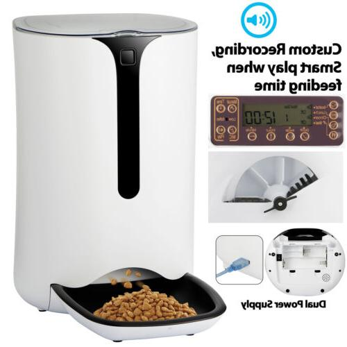Automatic Feeder Food Programmable Voice Recorder