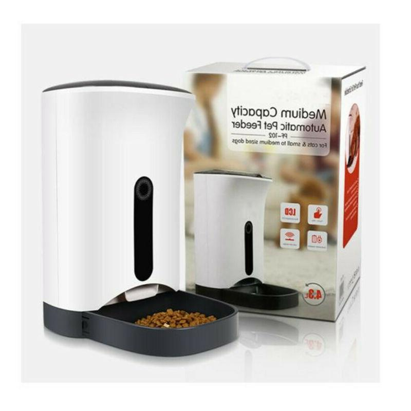 Automatic Pet Feeder Food Dispenser Cats and Dogs Meals