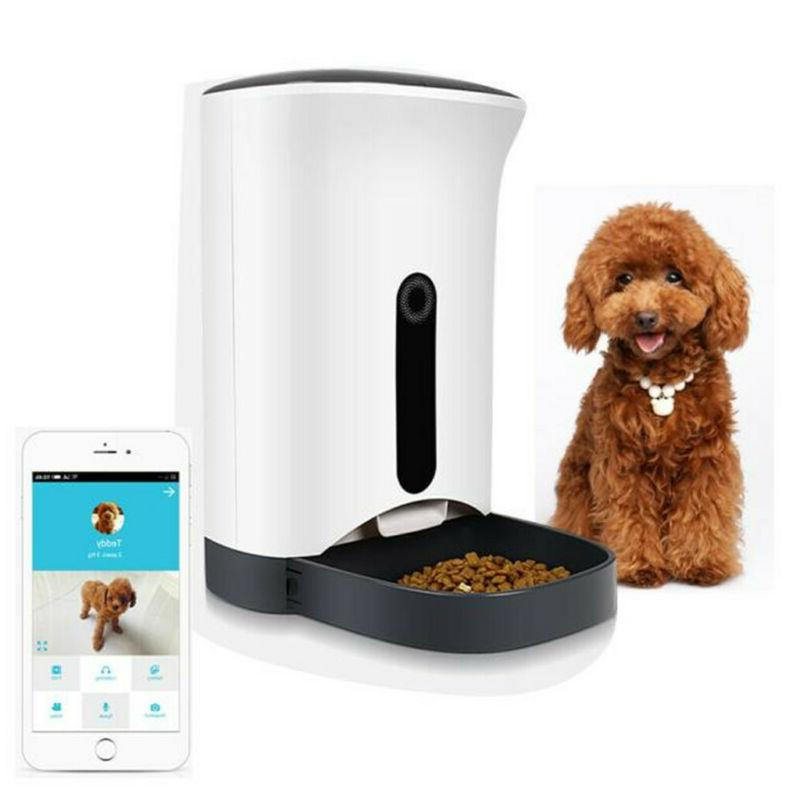 automatic pet feeder food dispenser for cats