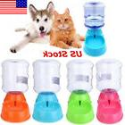 Automatic Pet Food Drink Dispenser Dog Water Bowl Cat Feeder