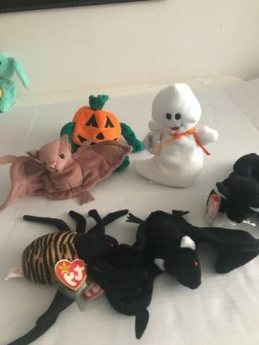 beanie babies for halloween total of 6