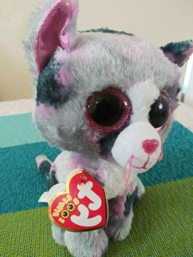 TY Beanie Boos Lindi the Cat plush