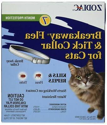 breakaway flea tick collar cats