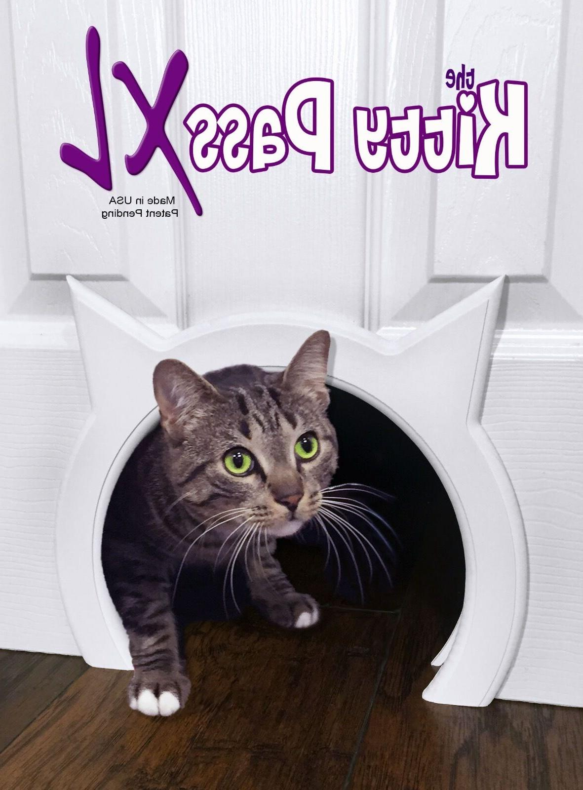 Cat door The Kitty Pass XL Large Cat Door, Hidden Litter box