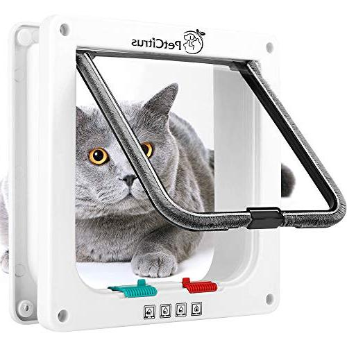 Cat by PetCitrus 4 Way for Indoor Window - Swinging - Compatible Large Cats - Dog Doggy