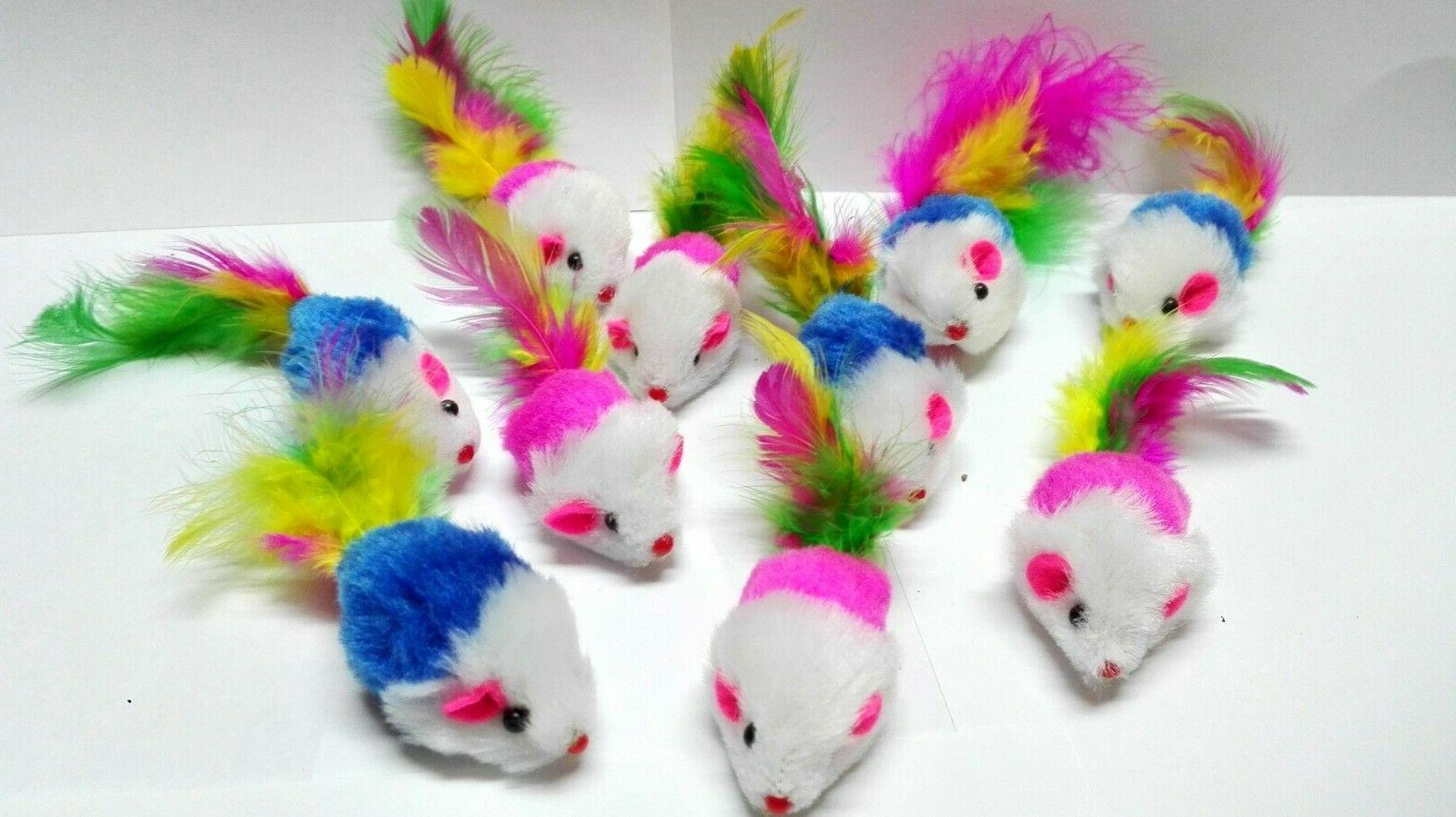 cat mice toys pack soft and durable