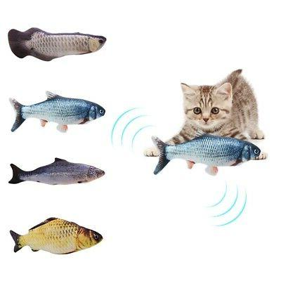 Cat Toys Fish Electric Realistic Simulation Interactive