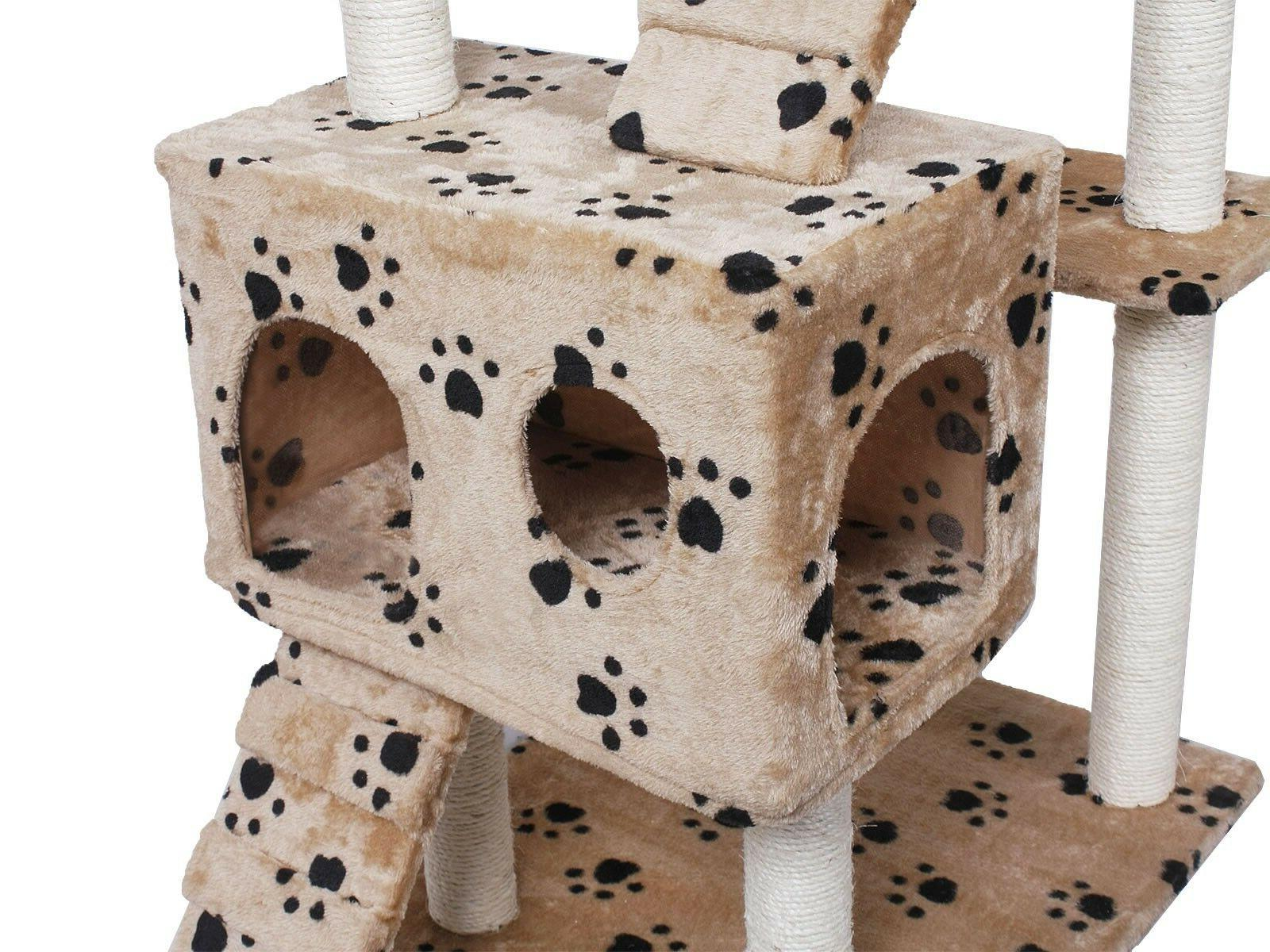 Cat Cats Scratching Furniture Condo House