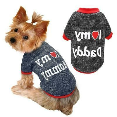 dog clothes for small dogs puppy cat