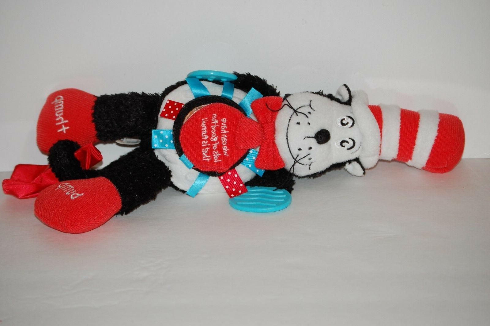 Dr Baby teether Cat The animal Activity black red