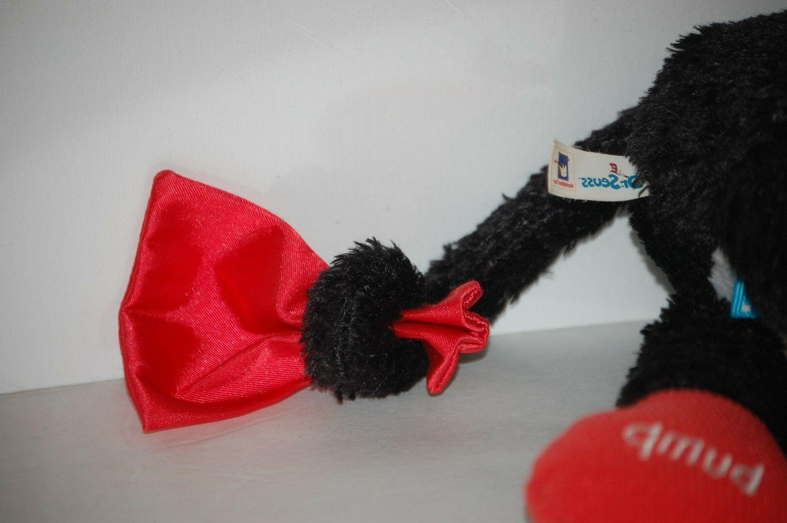 Dr Seuss rattler teether The Cat The Hat plush Activity