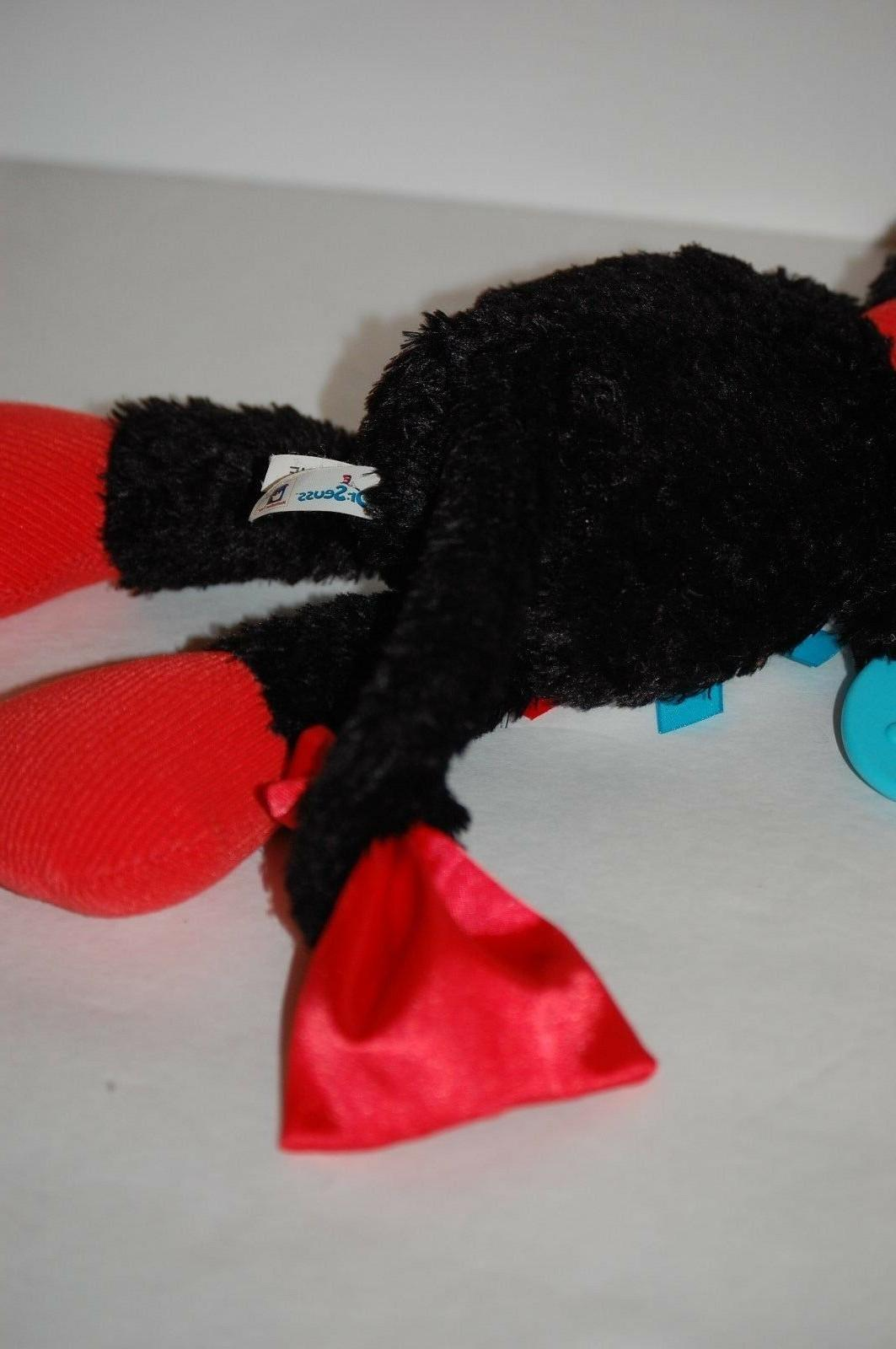 Dr teether The Hat Activity black red