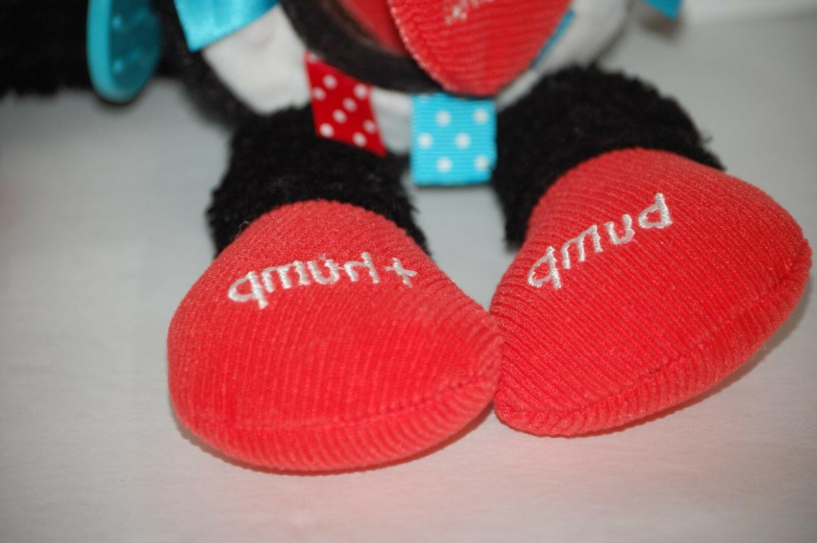 Dr Seuss teether The in The Hat Activity black red