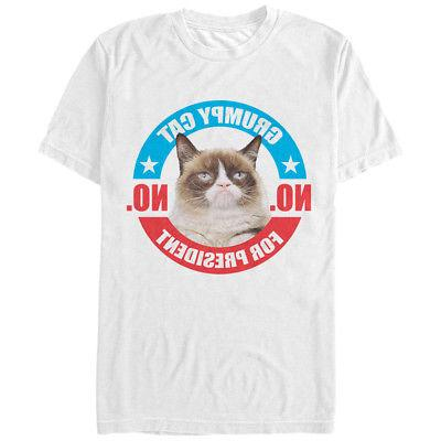 election no for president mens graphic t