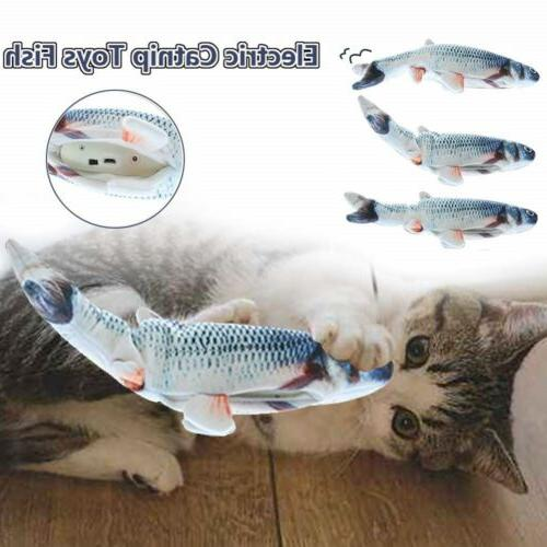 Electronic Pet Cat Toy Electric USB Fish New